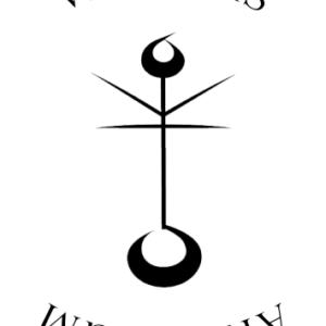 Black illustration of a moon symbol. writersarcanum.group - seeking-book-reviews-writersarcanum-com