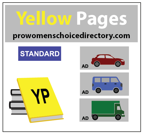 Color illustration of Yellow Pages books and cars for an ad. Writers Arcanum -